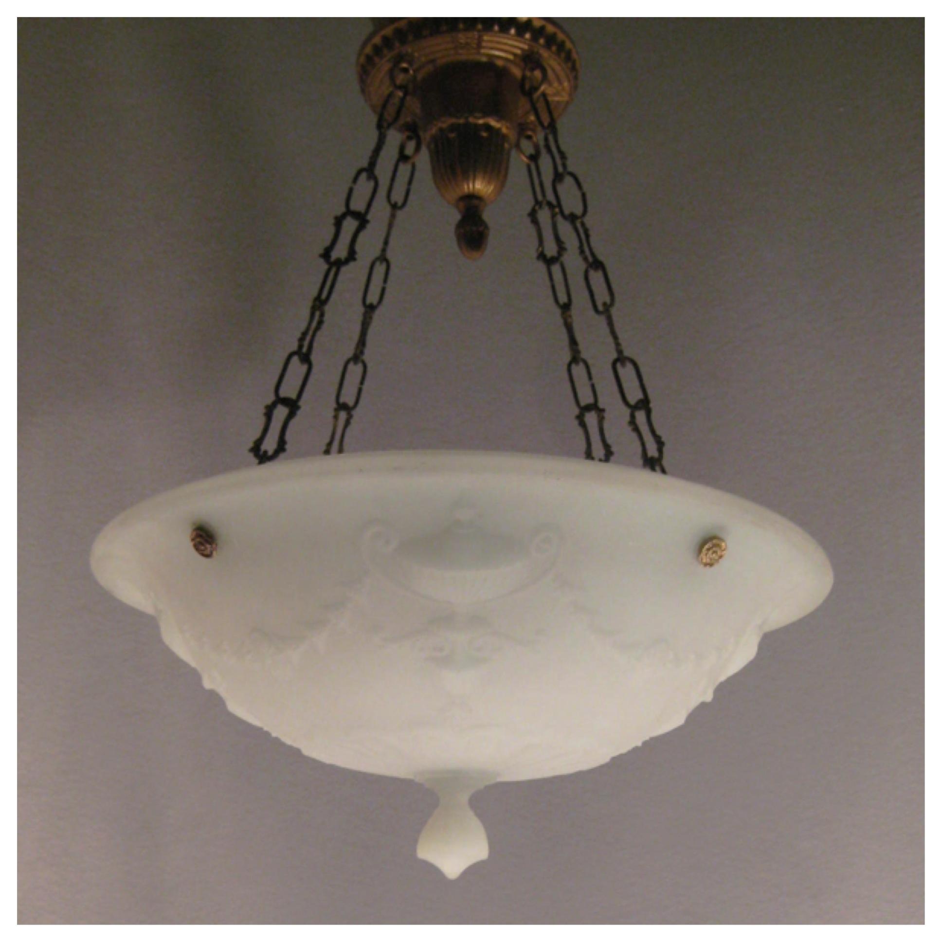 A8205 embossed camphor glass bowl light bogart bremmer bradley a8205 embossed camphor glass bowl light aloadofball Images