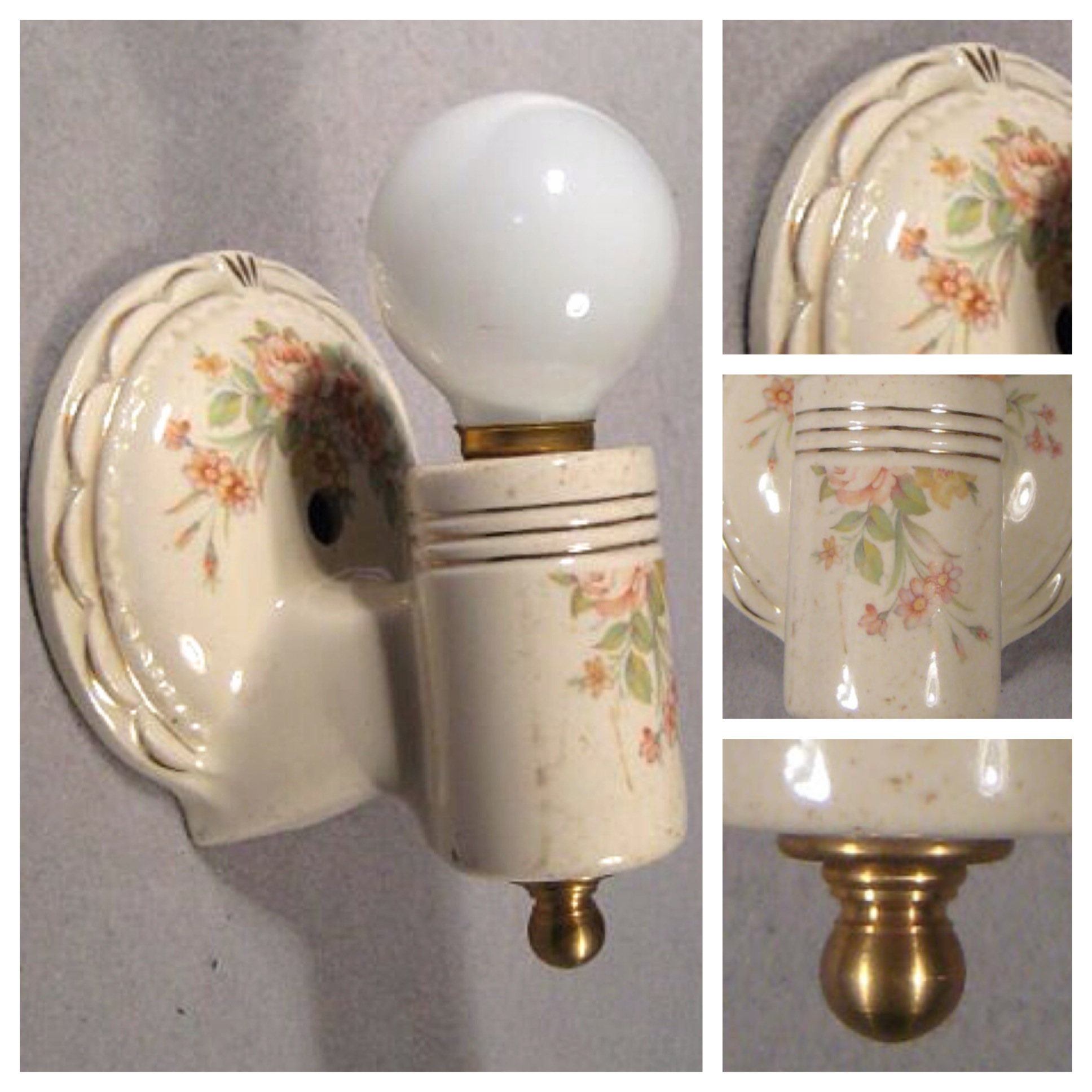 A8417 single porcelain wall sconce bogart bremmer bradley a8417 single porcelain wall sconce amipublicfo Image collections