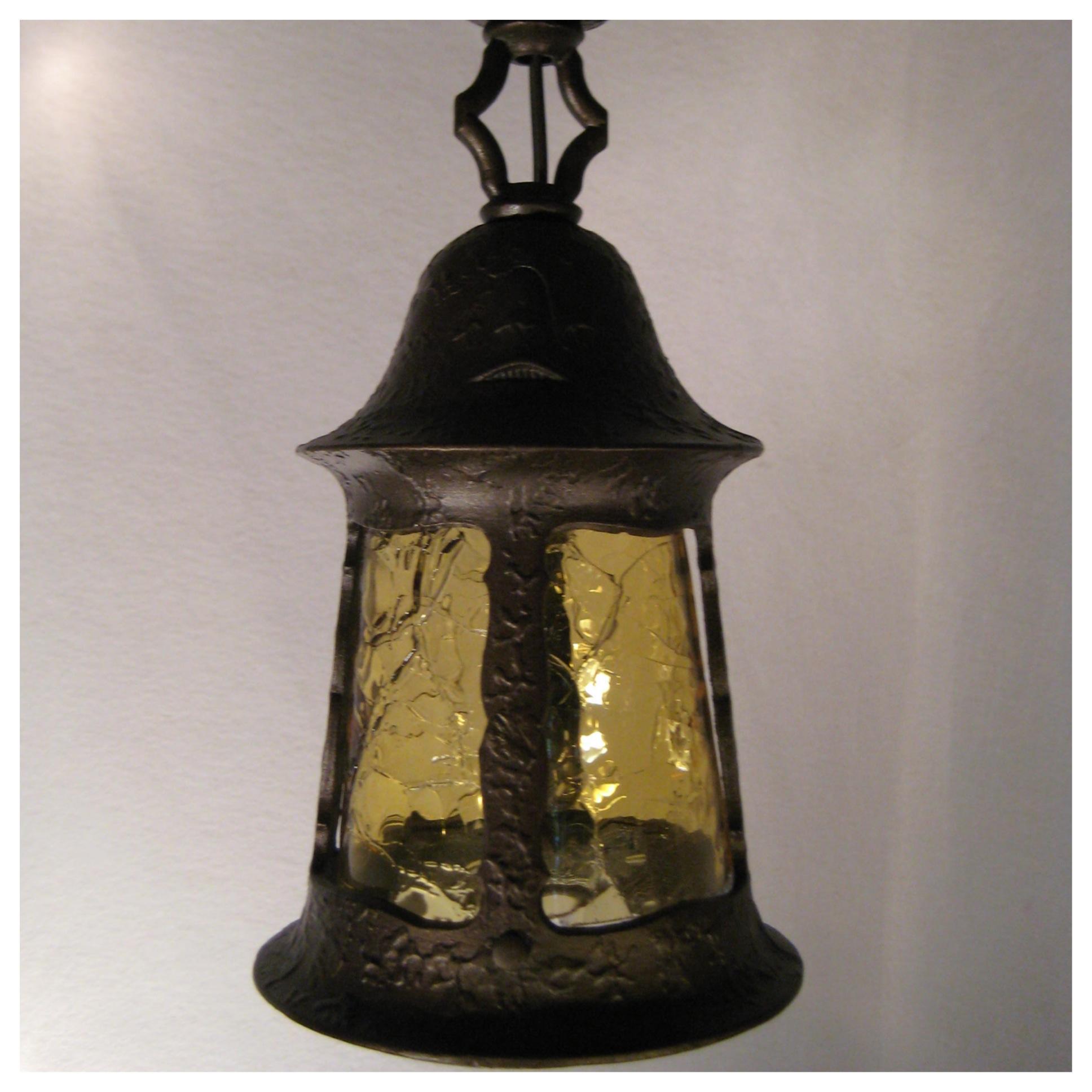 Outdoor Lighting Fixtures Arts And Crafts A8237 Pair Exterior Story Book Lights Bogart Bremmer Bradley Anti