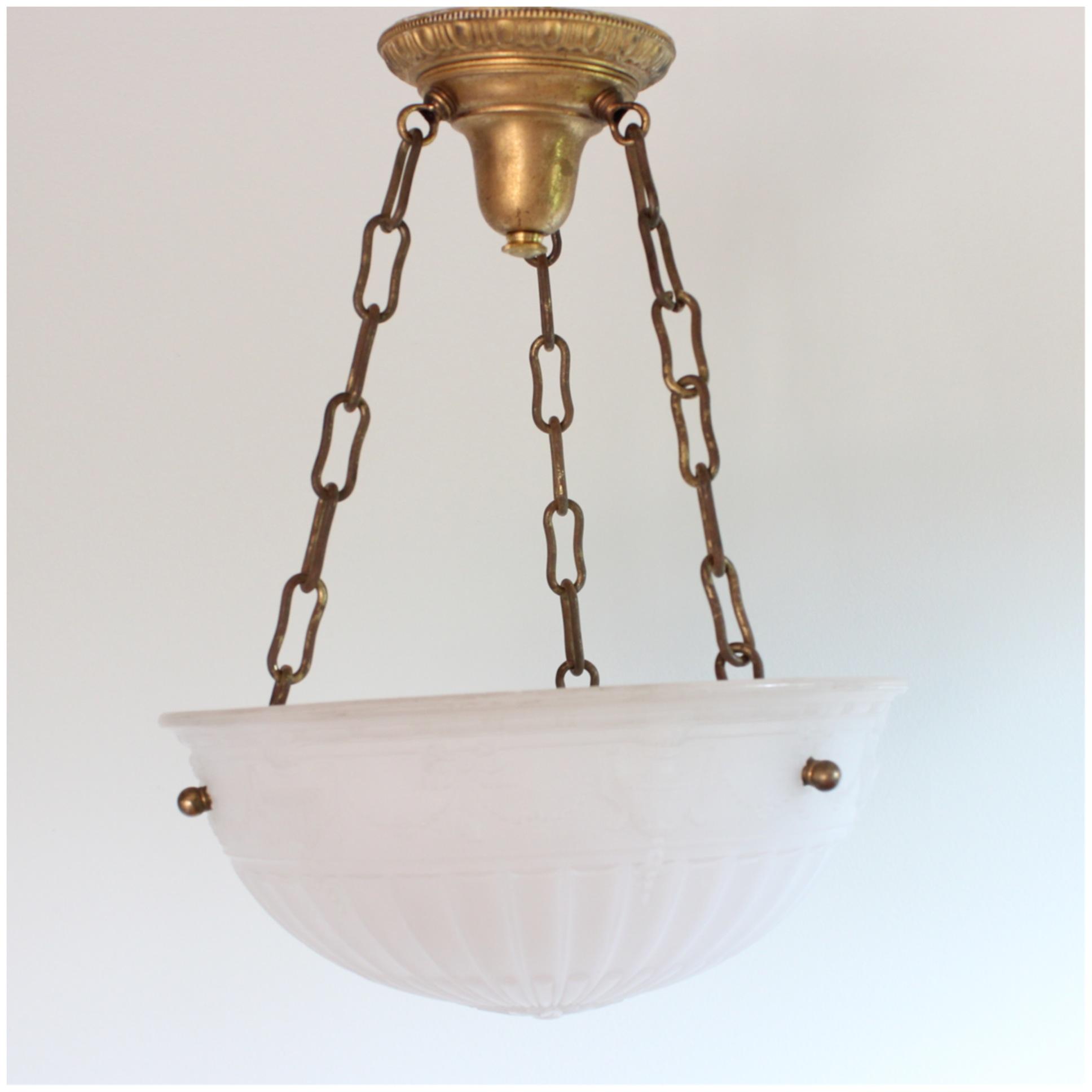 #DIY114 Camphor Glass Bowl Light