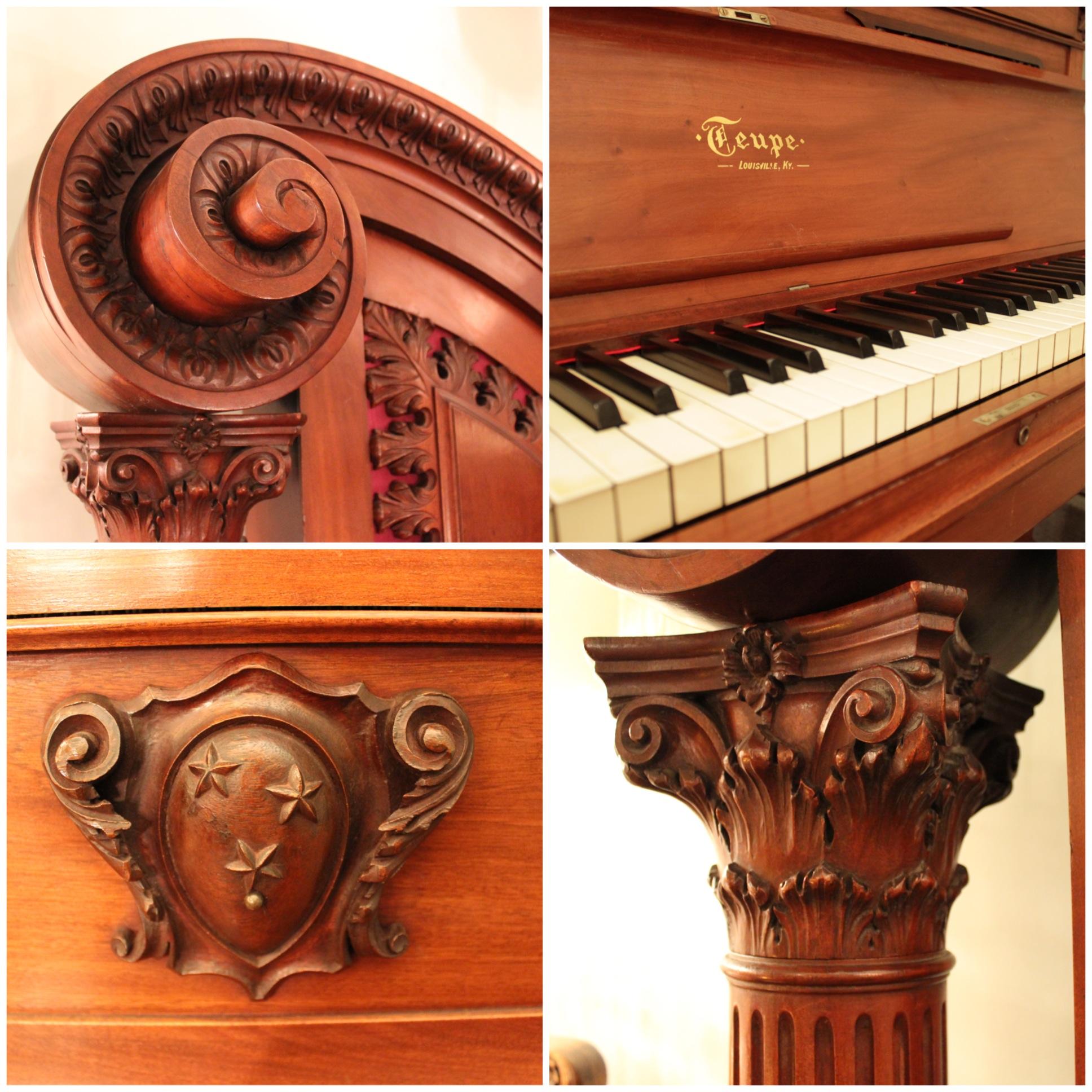 F4358 Rare Giraffe Piano