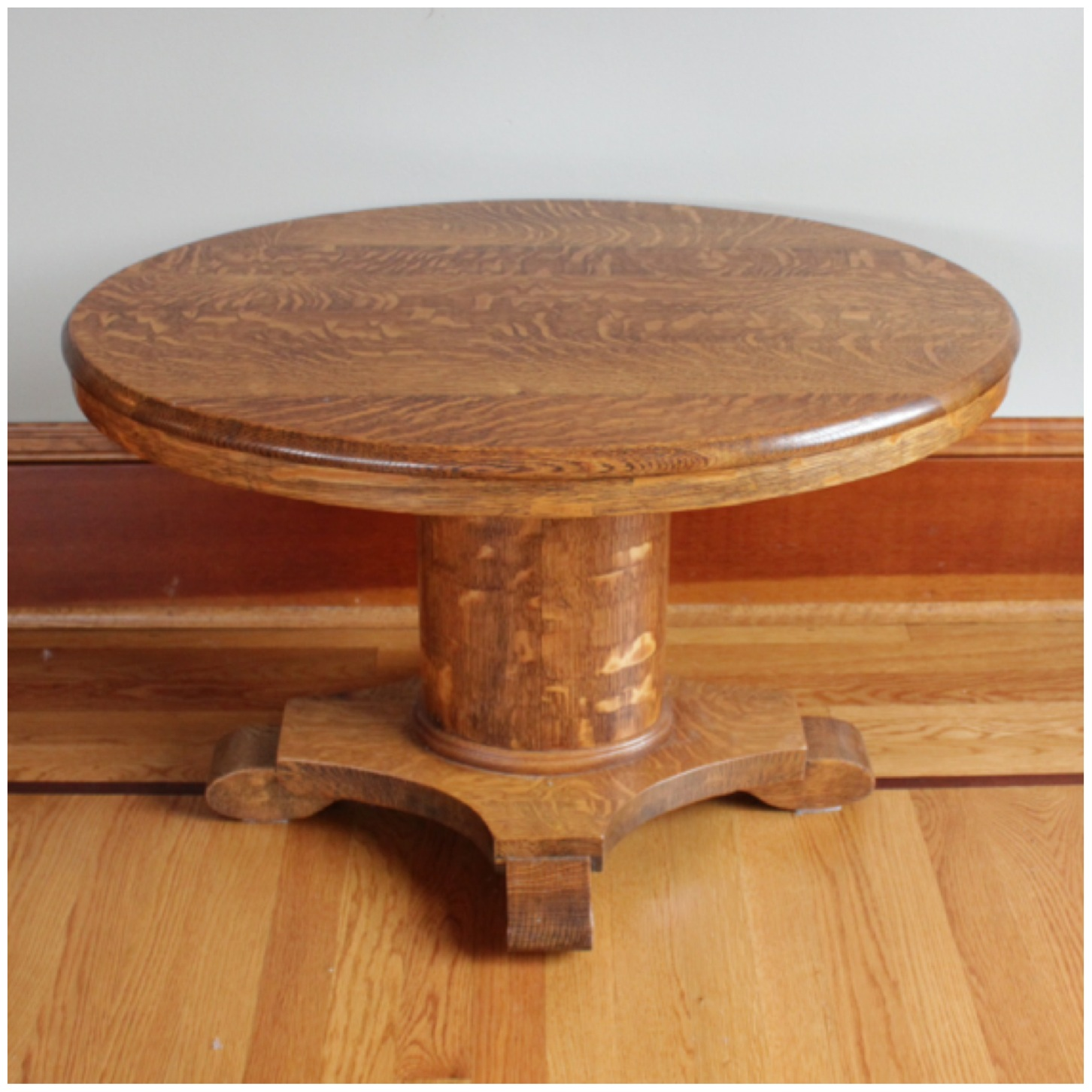 Oval Banded Coffee Table 2195 to pin on Pinterest
