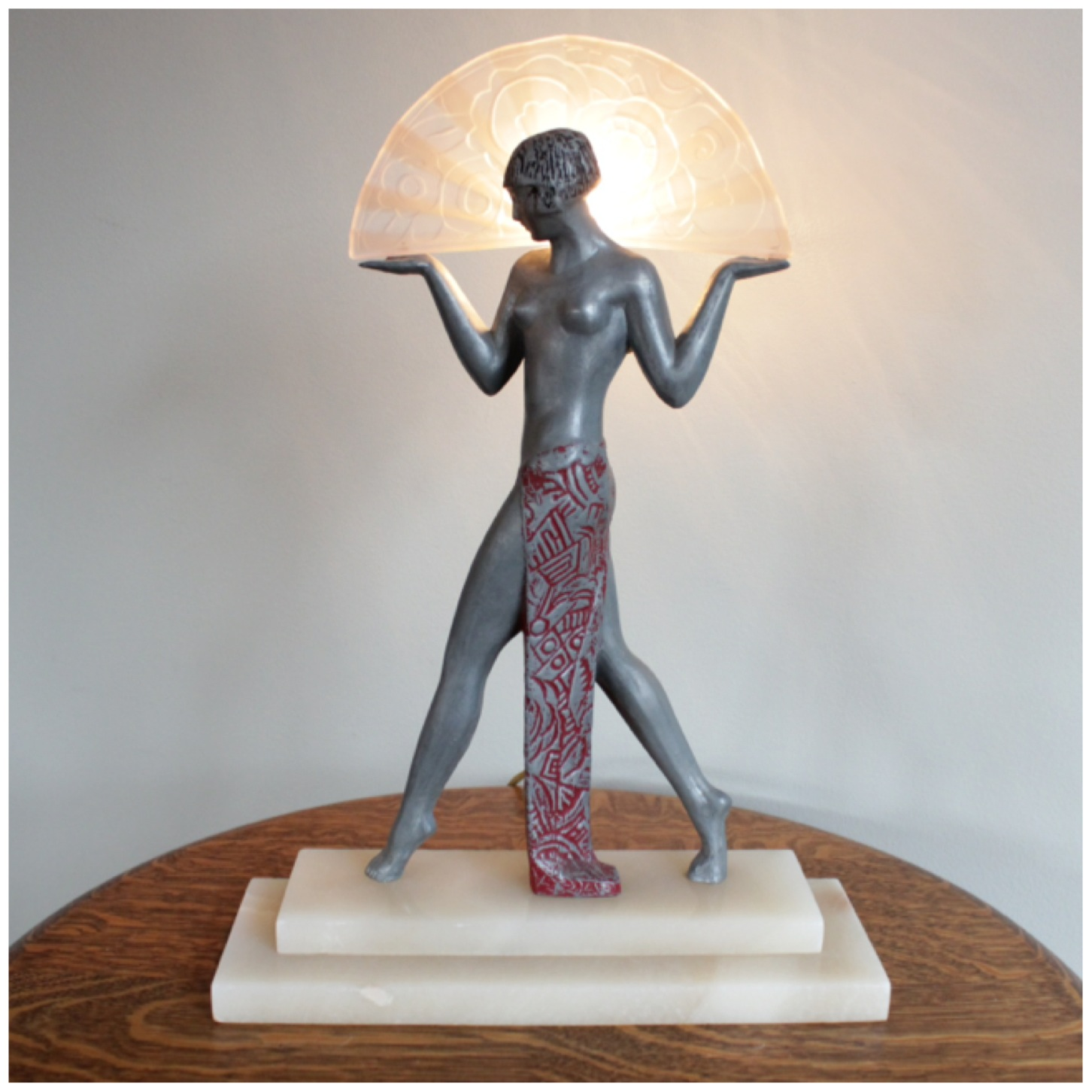 A7720 Art Deco Table Lamp