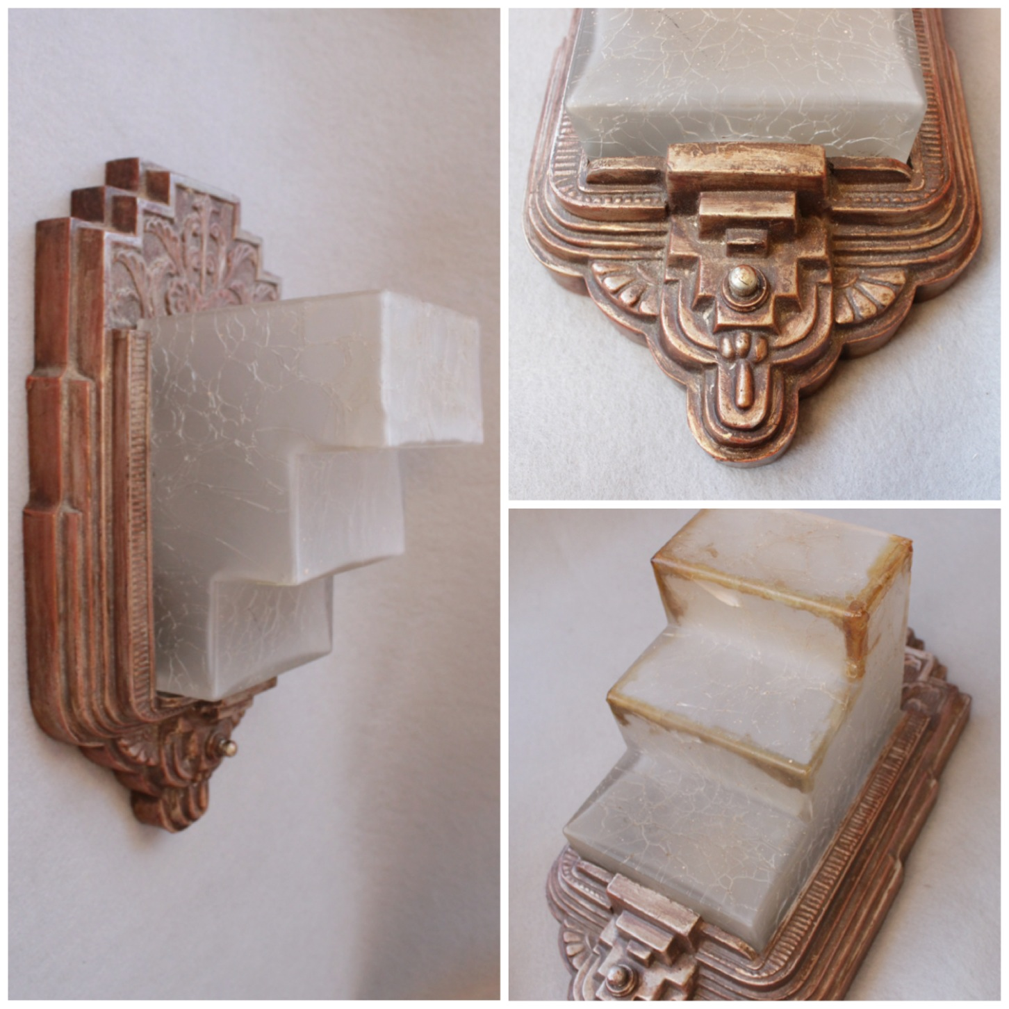#DIY155 Pair Art Deco .