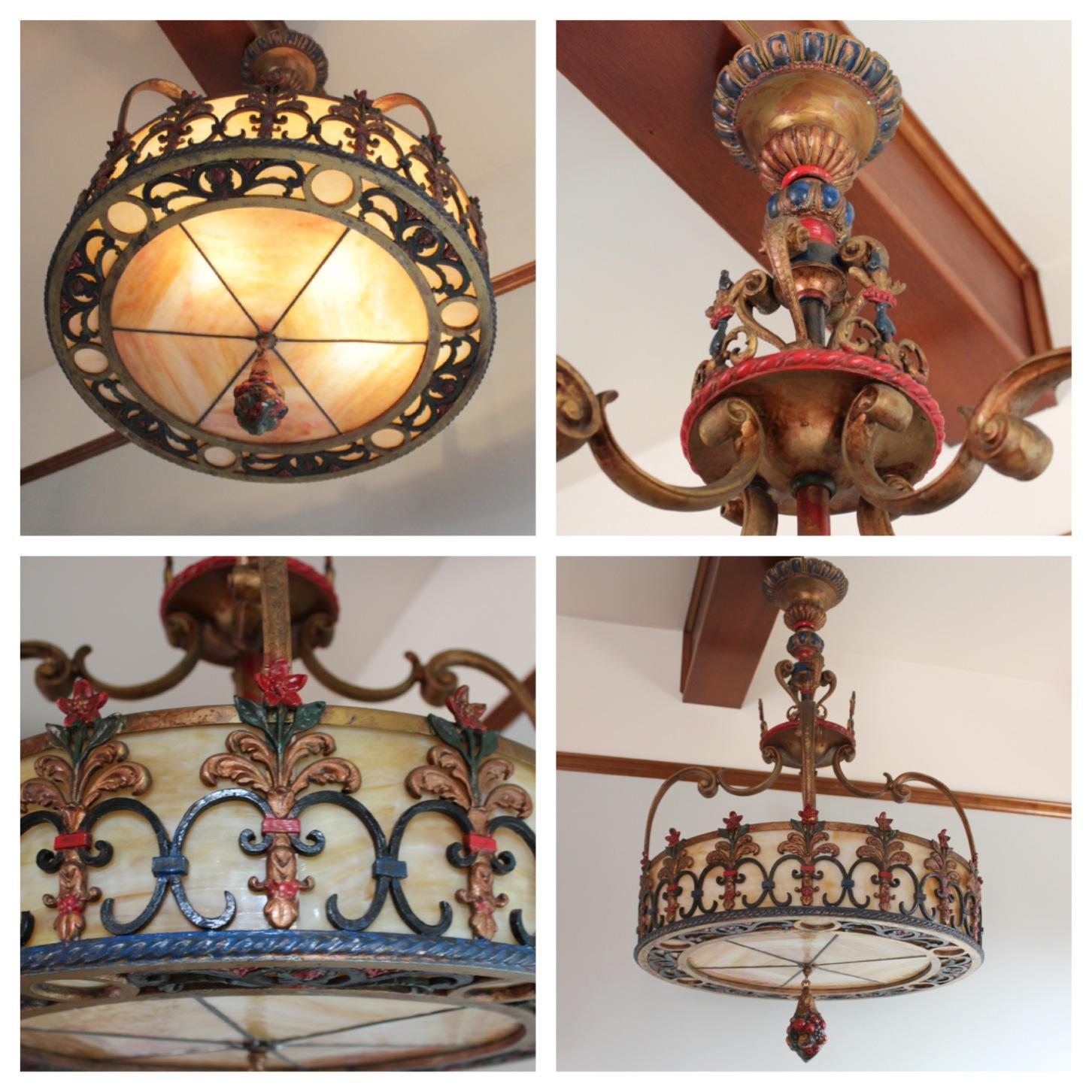 A7946 Mediterranean Spanish Style Chandelier