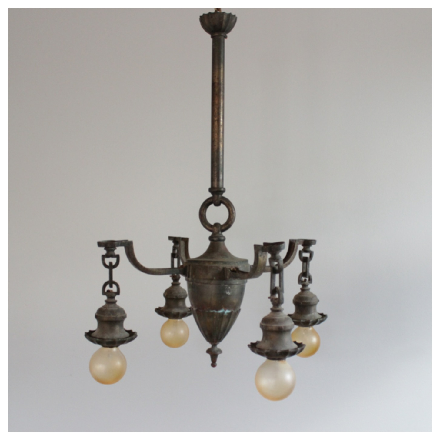 how to clean brass light fixtures