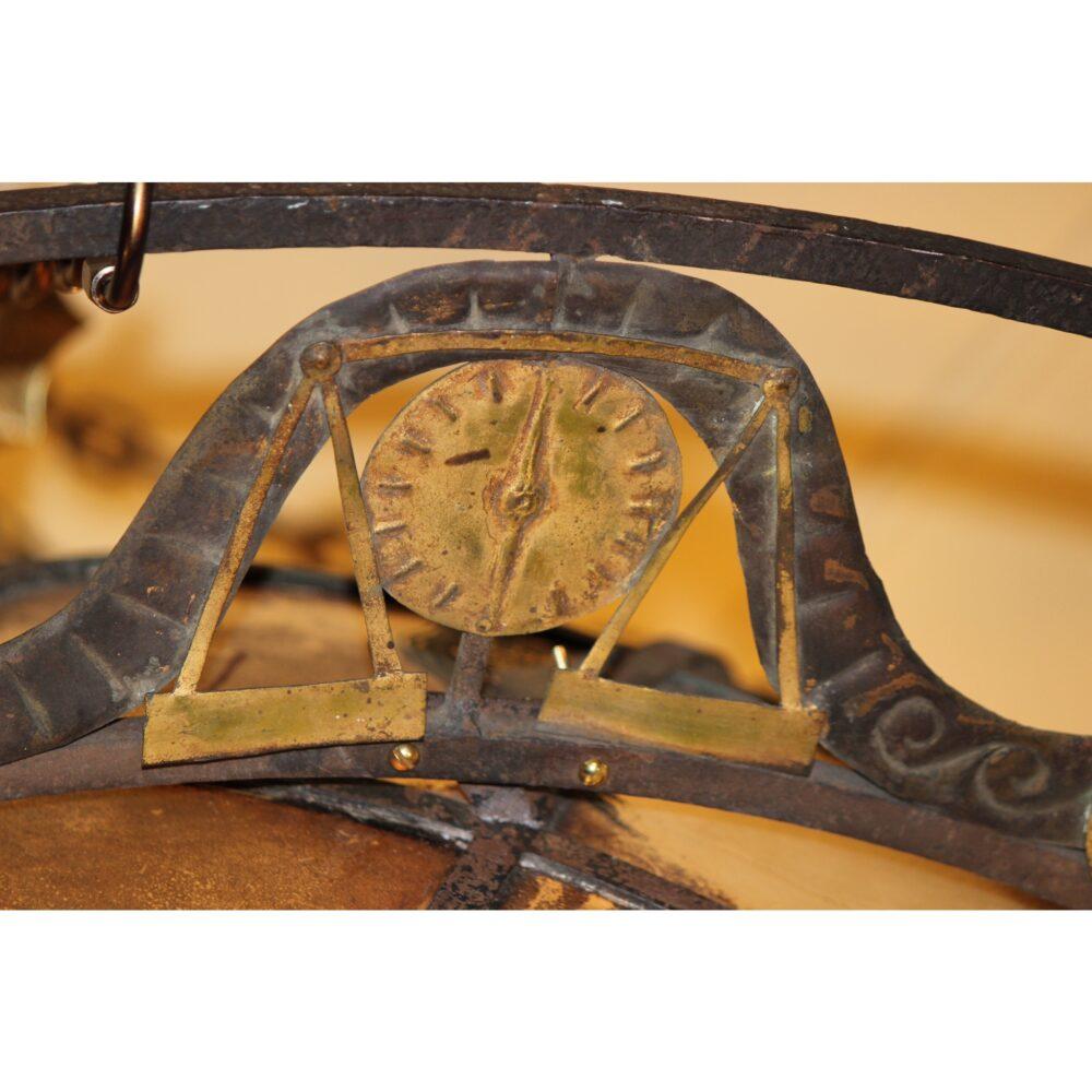 A4444 Antique World Globe Chandelier With Zodiac Ring Bogart Bremmer Amp Bradley Antiques